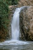 Waterfall in Chae Son National Park, Lampang, Thailand.  royalty free stock photo