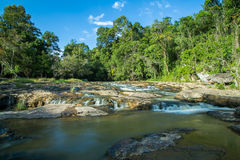 Waterfall at Chaiyaphum , Thailand 2 Royalty Free Stock Images