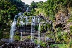 Waterfall at Champasak province, Laos Stock Image