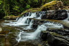 Waterfall at Champasak province, Laos Royalty Free Stock Photography
