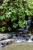 Waterfall at Champasak province, Laos Royalty Free Stock Photo