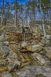 The Waterfall of Cheaha State Park. `The Waterfall of Cheaha State Park` is photo taken in Cheaha State Park, located near Delta, Alabama royalty free stock images