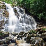 Waterfall. In Chiang Mai National Park Stock Photos