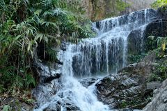 Waterfall in chiang mai Royalty Free Stock Image