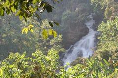 Waterfall in Chiang Mai, Thailand. A beautiful waterfall in Chiang Mai, Thailand royalty free stock photo