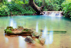 Waterfall in Chiang Mai Thailand Royalty Free Stock Image