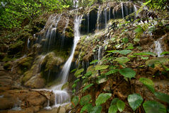 The Waterfall 2. This is a waterfall in Chiang Rai at Thailand royalty free stock photography