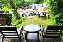 Waterfall in chiangmai Royalty Free Stock Image