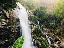 Waterfall Chiangmai Thailand stock photography