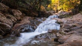 Waterfall. At Chiangmai Thailand in winter season Stock Photography