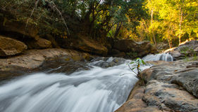 Waterfall. At Chiangmai Thailand in winter season Stock Images