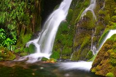 A waterfall royalty free stock photography