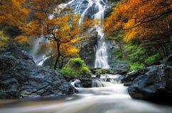 Waterfall. Chonglan in thailnad kampangpeje province Stock Images