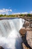 Waterfall on the Cijevna river Stock Photography