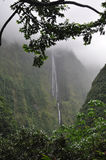 Waterfall in Cirque de Salazie, Reunion island Stock Photography