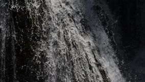 Waterfall with clean and fresh water stock video footage