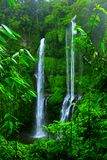 Waterfall. With clear water in tropical forest Royalty Free Stock Images