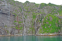 Waterfall cliffs Stock Photography