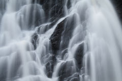 Waterfall close up Royalty Free Stock Images