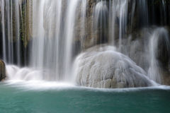 Waterfall close-up Royalty Free Stock Images