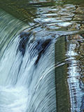 Waterfall close-up Stock Photography