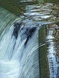 Waterfall close-up. Waterfall in Englischer Garten, Munich, Bayern Stock Photography