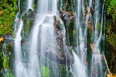 Waterfall (close-up) Royalty Free Stock Photo