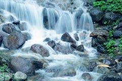Waterfall close-up Royalty Free Stock Image