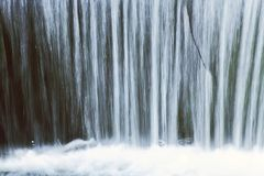 Waterfall natural background Stock Photography