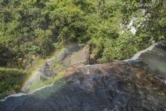 Waterfall Close Up at Iguazu Falls Stock Images