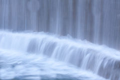 Waterfall close up shot Stock Image