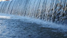 Waterfall close up stock footage