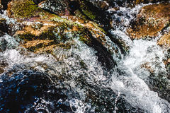 Waterfall close up Royalty Free Stock Photo