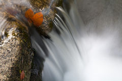 Waterfall closeup Stock Photo