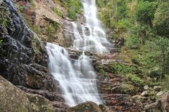 Waterfall closeup, Venezuela Stock Photos