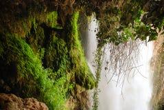 Waterfall. Cola de Caballo. Piedra river. Spain Royalty Free Stock Image