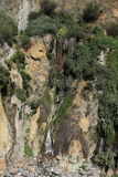 Waterfall in the Colca Canyon in Peru Royalty Free Stock Photos