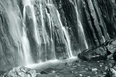 Waterfall of Collados del Ason Stock Photos
