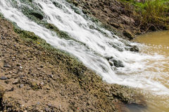 Waterfall concrete Stock Photography