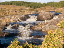 Waterfall in Connemara, Ireland. Waterfall in the wilderness of Connemara, Ireland royalty free stock photography