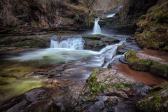Waterfall country, South Wales Royalty Free Stock Images