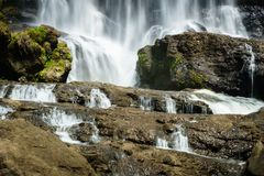 Waterfall, countryside landscape in a village in Cianjur, Java, Indonesia. Waterfall, countryside landscape in a village in Cianjur, Jawa, Indonesia Royalty Free Stock Photo