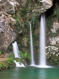 Waterfall in Covadonga, Asturias Royalty Free Stock Images