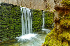 Waterfall on Crazy Mary River, Belasitsa Mountain, Bulgaria Royalty Free Stock Images