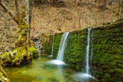 Waterfall on Crazy Mary River, Belasitsa Mountain, Bulgaria Stock Images