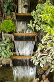 Waterfall in garden. Stock Photography
