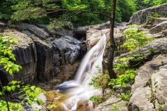 Waterfall and creek in Odaesan Stock Photo