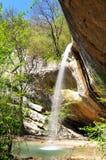 Waterfall in Crimea Stock Photography
