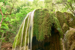 Waterfall in Crimea Stock Photos