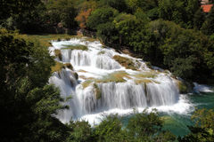 Waterfall in Croatia Stock Photos